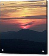 White Mountains Nh - Sunset Acrylic Print