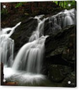 White Mountains Waterfall Acrylic Print by Juergen Roth