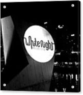White Night Melbourne Acrylic Print