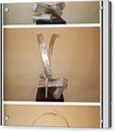 White Noise Acrylic Print
