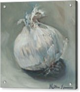 White Onion No. 1 Acrylic Print