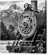 White Pass Railway Engine 73 Acrylic Print