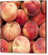 White Peaches Acrylic Print