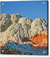 White Pocket Think Tank Acrylic Print by Brent Parks
