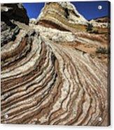 White Pockets 2376 Acrylic Print