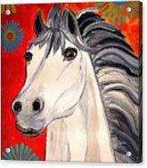 White Princes Acrylic Print
