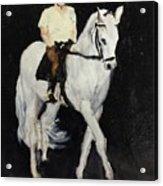 White Ride Acrylic Print