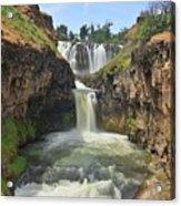 White River Falls B Acrylic Print