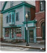 White River Junction Street Acrylic Print