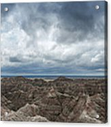 White River Valley Overlook Panorama 2  Acrylic Print