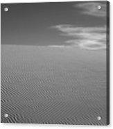 White Sands Dune Acrylic Print