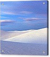 White Sands National Monument, Sunset Acrylic Print