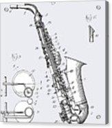 White Sax Acrylic Print