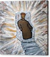 White Throne Of Heaven Acrylic Print