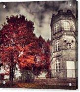 White Tower Of Autumn Acrylic Print