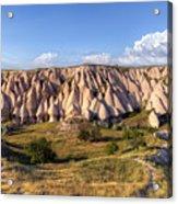 White Valley - Cappadocia Acrylic Print