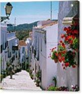 White Village Of Frigiliana Andalucia., Spain Acrylic Print