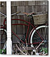 White Wall Tires Acrylic Print by Mg Blackstock