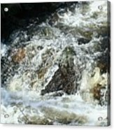 White Water Acrylic Print