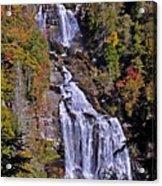 White Water Falls Acrylic Print