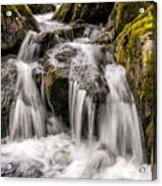 White Water Rapids Acrylic Print