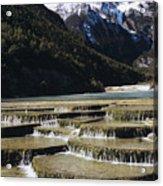 White Water River - Lijiang Acrylic Print