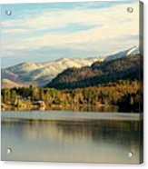 Whiteface Dusting Acrylic Print