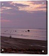 Whitehorse Beach - Sunset Acrylic Print