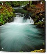 Whitehorse Falls 3 Acrylic Print