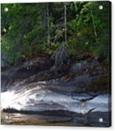 Whiteshell Provincial Park Lakeshore Acrylic Print