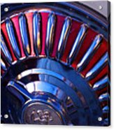 Whitewall Roulette Acrylic Print