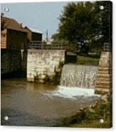 Whitewater Canal Locks Metamora Indiana Acrylic Print