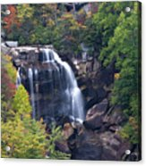 Whitewater Falls In Nc Acrylic Print