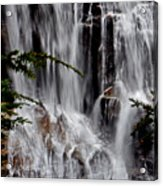 Whitewater Falls Lower Falls 001 Acrylic Print
