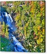 Whitewater Falls North Carolina Acrylic Print
