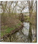 Whitewater River Spring 41 A Acrylic Print