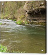 Whitewater River Spring 42 Acrylic Print