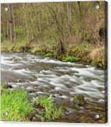 Whitewater River Spring 44 Acrylic Print