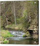 Whitewater River Spring 45 A Acrylic Print