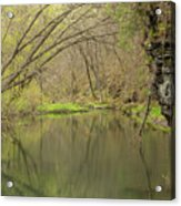 Whitewater River Spring 51 Acrylic Print