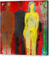 Who  Acrylic Print by Carlos Camus