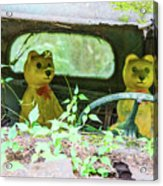 Who Has Been Driving My Truck Acrylic Print