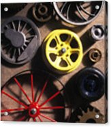 Who Invented The Wheel? Acrylic Print