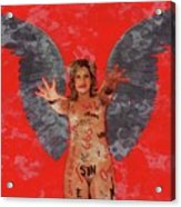 Whore Of Babylon By Mb Acrylic Print
