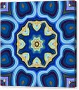 Whorl Kaleidoscope Acrylic Print