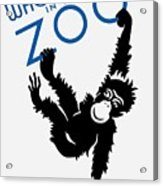 Who's Who In The Zoo - Wpa Acrylic Print