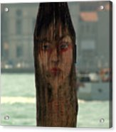 Why The Long Face Acrylic Print