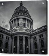 Wi Capitol Acrylic Print