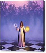 Wiccan Dawn Acrylic Print