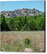 Wichita Mountains Wildlife Refuge - Oklahoma Acrylic Print